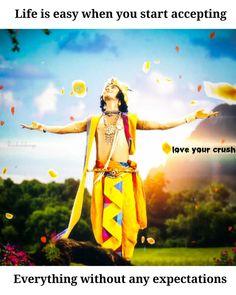 Radha Krishna Quotes, Radha Krishna Pictures, Minion Baby, Cute Krishna, Bhagavad Gita, Radhe Krishna, Love Of My Life, Attitude, Nature Photography