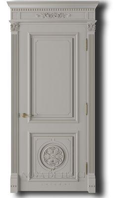 Межкомнатные деревянные двери в Украине, купить деревянные двери, двери на заказ Door Molding, Moulding, Custom Wood Doors, Wooden Words, Classic Doors, Architrave, Tv Decor, Classic Interior, Room Doors