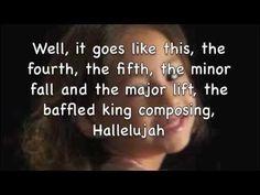 Hallelujah- Rhema Marvanne lyrics  This child has a most beautiful voice!