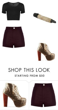 """""""first tour performance outfit 3"""" by slayyeettia on Polyvore featuring Jeffrey Campbell, River Island and Topshop"""