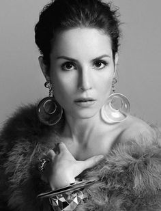 Noomi Rapace...according to several people, I look like her. I think it's the eyes, but I don't totally see it.