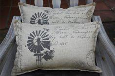 Rustic Windpump Pillowcase   Mooi Goete
