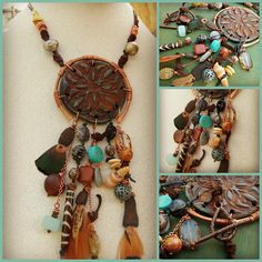 Talisman Necklace. Moobie Grace Designs: Bead Soup Blog Party 7...with Cherrie Fick.  Second Reveal