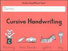 Cursive Handwriting Student Workbook