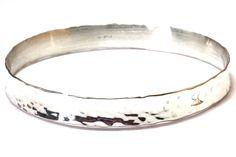 Silver handmade bangle