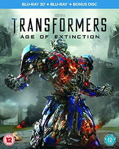 Transformers: Age of Extinction Blu-ray 3D + Blu-ray + Bonus Disc: Amazon.co.uk: Mark Wahlberg, Nicola Peltz, Jack Reynor: DVD & Blu-ray