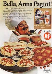 Vintage Pizza Ads