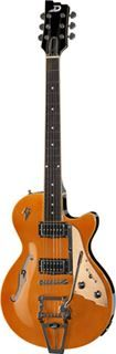 Duesenberg-Starplayer-TV-Trans-Orange-met-case