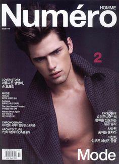 Numero Homme Korea F/W 09 Cover (Numero Homme Korea)