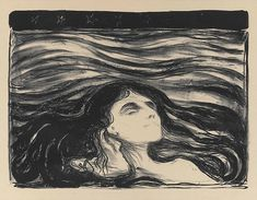 blackpaint20: Edvard Munch On the Waves of Love