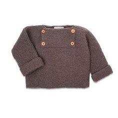 Tricot enfant: un pull sans couture - Marie Claire Idées