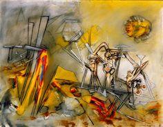 Matta, Roberto : Fine Arts, Before 1945 Most Famous Artists, Fantastic Art, Contemporary Paintings, American Artists, Max Ernst, Art World, Art Blog, Magritte, Art History
