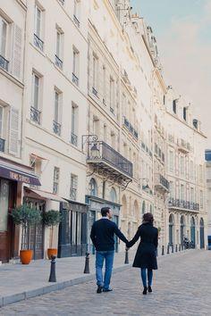 beautiful Paris engagement