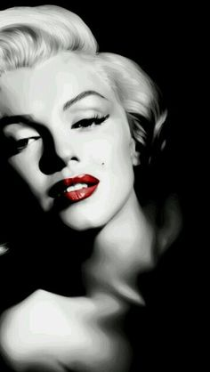 "Marilyn Monroe: Born ""Norma Jeane Mortenson"" on June Classic Hollywood, Old Hollywood, Divas, Vintage Cartoons, Illustration Mode, Norma Jeane, Classic Beauty, Vintage Beauty, Most Beautiful Women"