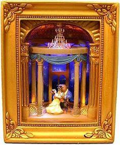 """One Wondrous Waltz"" Belle & Beast Gallery of Light box"