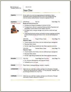 Aerobics Instructor Resume Cover Letter - http://www.resumecareer.info/aerobics-instructor-resume-cover-letter-14/