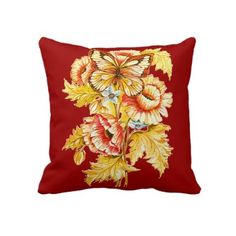 Vintage Russian Throw Pillow by whaleriders6