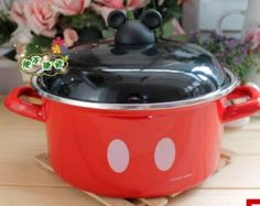 Mickey Mouse Cookware Boiling Pot Good for Making Soup Multiple Use Cookware Use