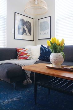 rosedale apartment tour: living room – awfully big adventure