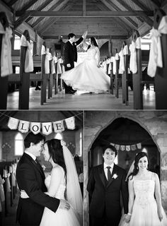 Small Church Wedding--- so simple and beautiful                                                                                                                                                      More