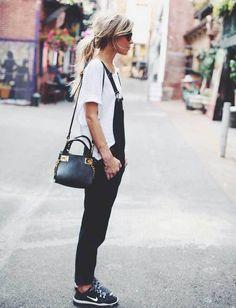 Los looks en blanco y negro, impecables y estilosos.