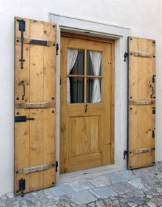 Outdoor Living Patios, Rustic Doors, Traditional House, Tall Cabinet Storage, Tiny House, Pergola, Garage Doors, Shed, Home And Garden