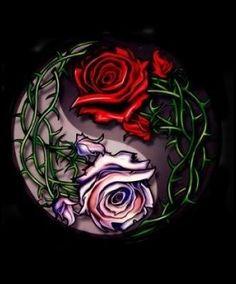 Resultado de imagem para dragon yin yang art