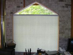 2 window coverings to lower your electricity bill and block pesky summer sun glare - love it!