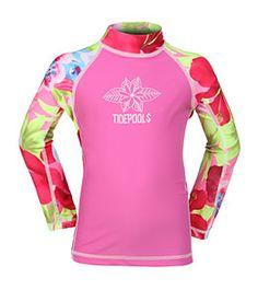 056842b84 Tidepools Girls  Hanalei L S Rash Guard at SwimOutlet.com