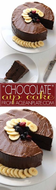 "Autoimmune Protocol ""Chocolate"" Cake recipe from ACleanPlate.com."