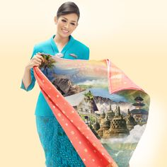 Garuda Indonesia Airlines 2014 Calendar on Behance