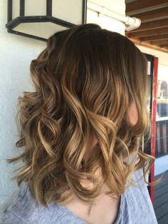 #HairbyAmandaDupnik Highlights Balayage
