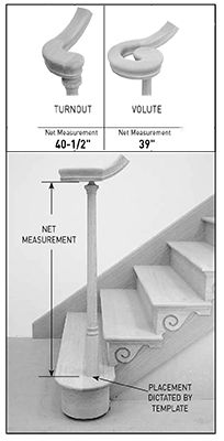 DIRECT STAIR PARTS   Stair Parts Ordering Specifications For Newels Page 2