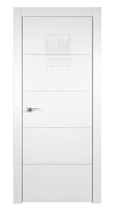 Arazzinni SmartPro 4H Polar White 8-ft Modern Interior Door (Interior Doors)