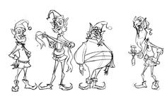 Golden Street Animation Character Design