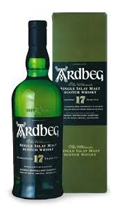 Ardbeg Islay single malt Scotch Whiskey