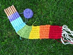 stick weaving tutorial