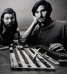 Steve Wozniak & Steve Jobs - 1976