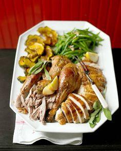 Maple-Glazed Turkey - Martha Stewart Recipes