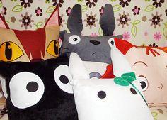 Totoro pillows