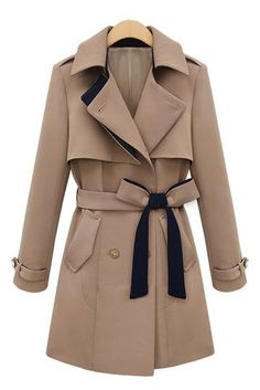 Belted trench - Cami Fashion Sneakers
