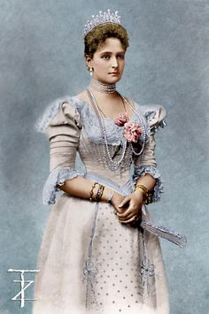 """Empress Alexandra Feodorovna - Alexandra was very supportive of her husband Nicholas, yet she often gave him bad advice. She was a fervent advocate of the """"Divine Right To Rule"""" and believed that it was unnecessary to attempt to secure the approval of the people."""