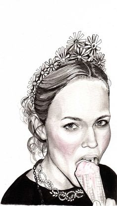 Kai Fine Art is an art website, shows painting and illustration works all over the world. Human Face Drawing, Illustration Sketches, Illustration Fashion, Fashion Illustrations, Female Head, Graphic Artwork, Street Art Graffiti, Fashion Sketches, Creative Art
