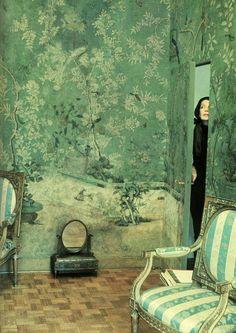 Pauline de Rothschild by Horst P. Horst.