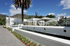 For the Drostdy Hotel in Graaff-Reinet, Eastern Cape, dhk integrated its historic fabric with contemporary insertions throughout creating a seamless experience of the rich heritage of the site and bringing the hotel provision up to a 5-star rating. #dhk #DrostdyHotel #architecture #architects #design #buildings #hoteldesign