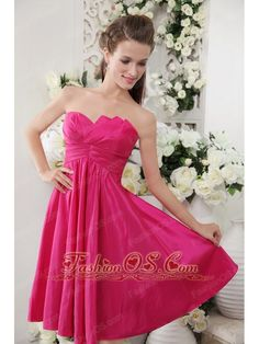 Lime Green Bridesmaid Dress Hot pink with bright orange ...
