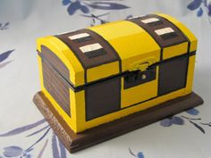 Link's Small Treasure Chest The Legend of Zelda by emmadreamstar, $35.00