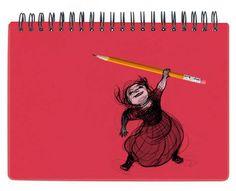 Qué feliz a lápiz es el elocuente título de la exposición de Noemí Villamuza en la libreríaEl Bosque de la Maga Colibrí de Gijón.Del 7 de octubre al 19 de noviembre disfrutaremos de sus artes finales y esbozos previos de diversos trabajos de la ilustradora para distintas editoriales a lo largo de los últimos 15 años.