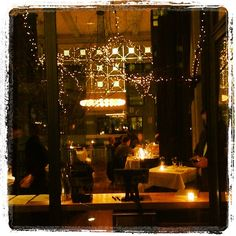 Perfect evening for cocktails at Bluehour in Portland's Pearl District. | 02.12.13 | Photo by Jeff Fisher