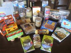 Just in Case – A Three Day Emergency Meal Plan